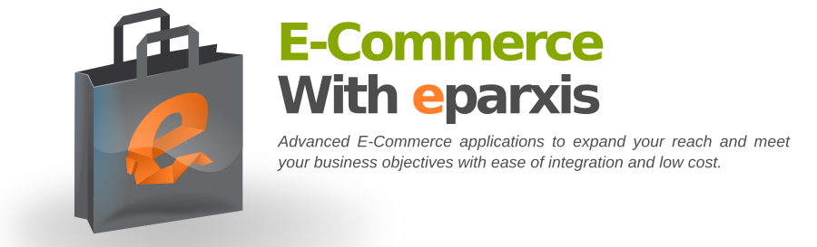 e-shop design, ecommerce software with eparxis