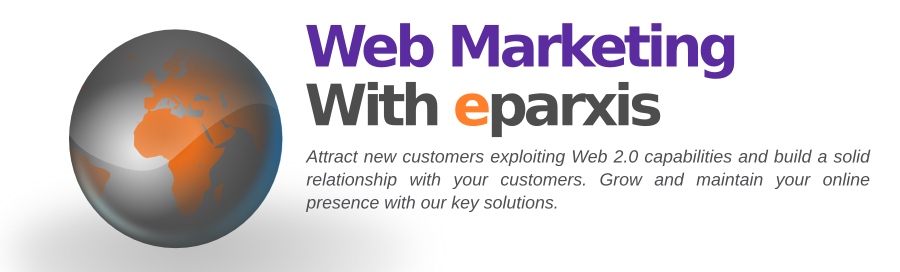 Internet marketing - SEO with eparxis