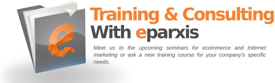training and seminars for ecommerce and Internet marketing by eparxis